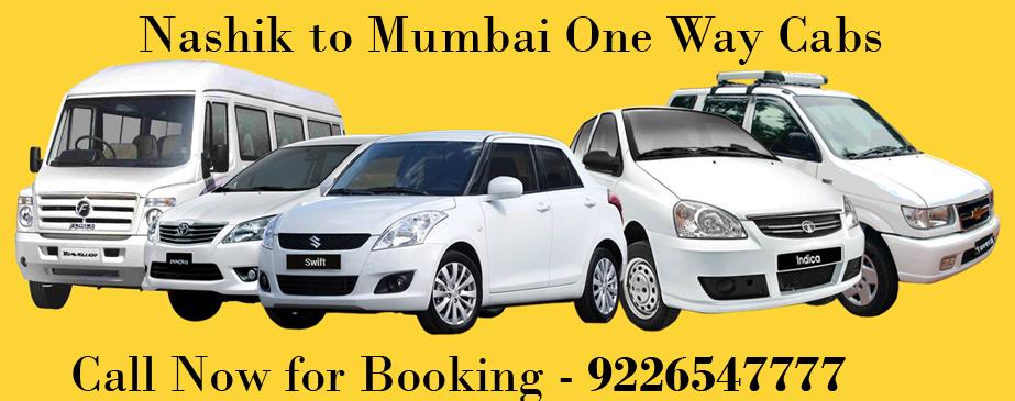 nashik mumbai one way cabs